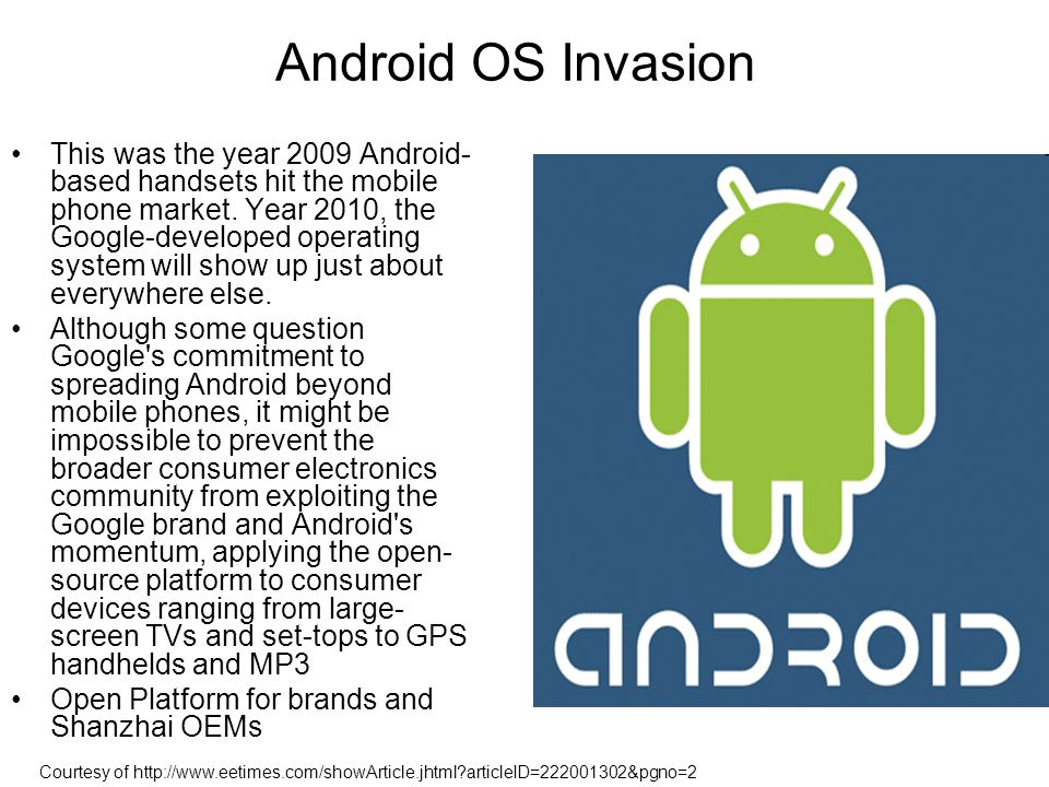 Android OS Invasion