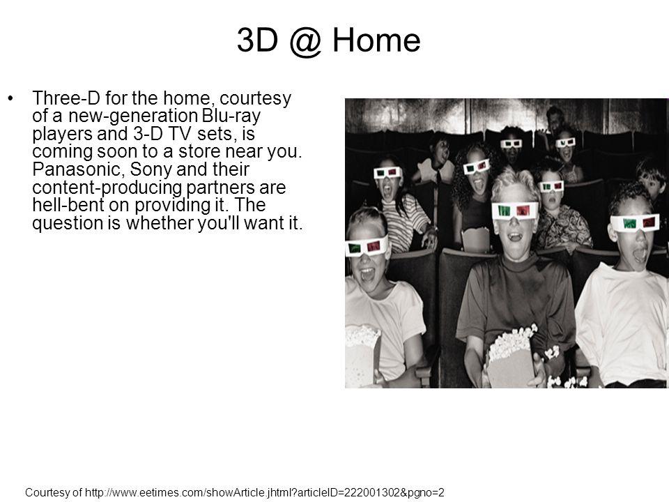 3D @ Home
