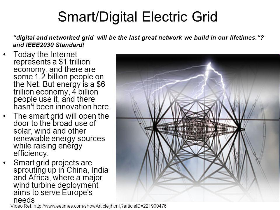 Smart/Digital Electric Grid