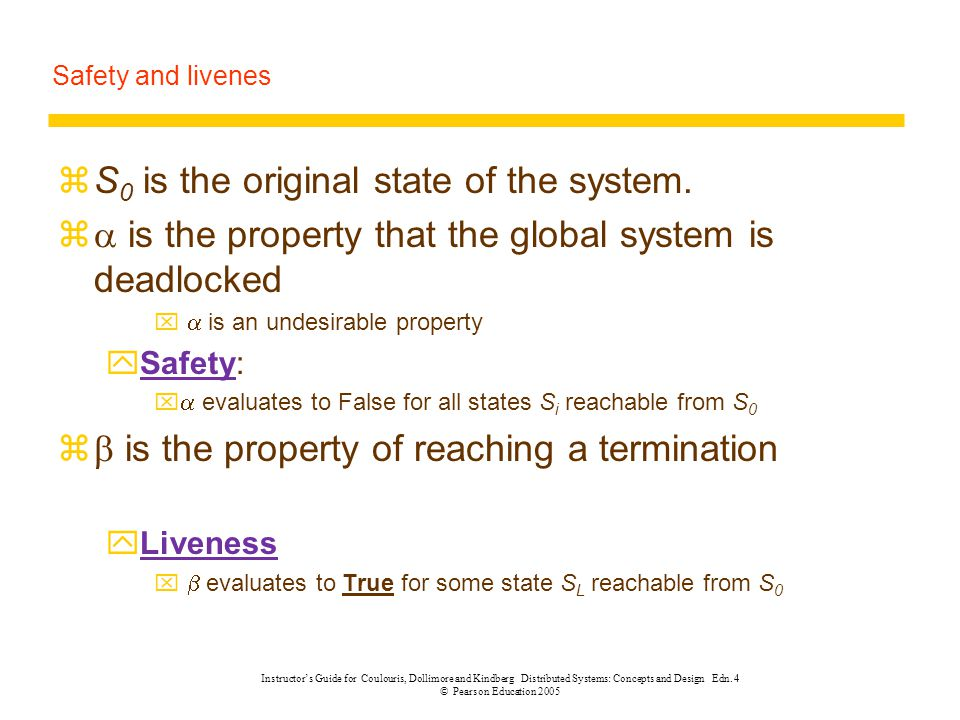 S0 is the original state of the system.