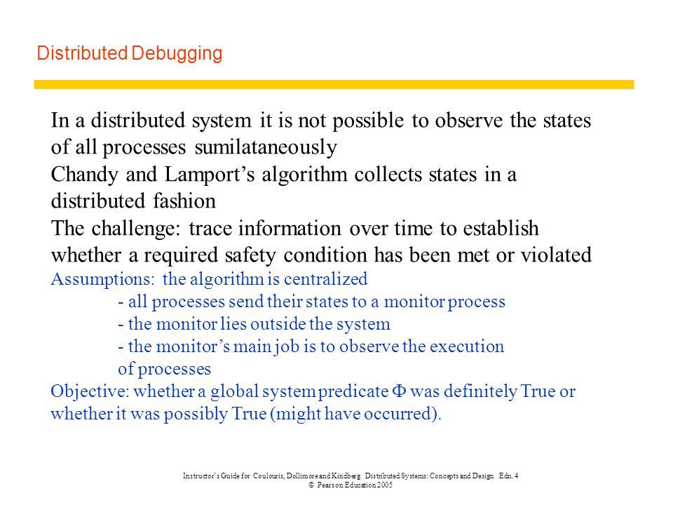 Distributed Debugging