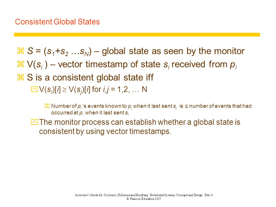 Consistent Global States