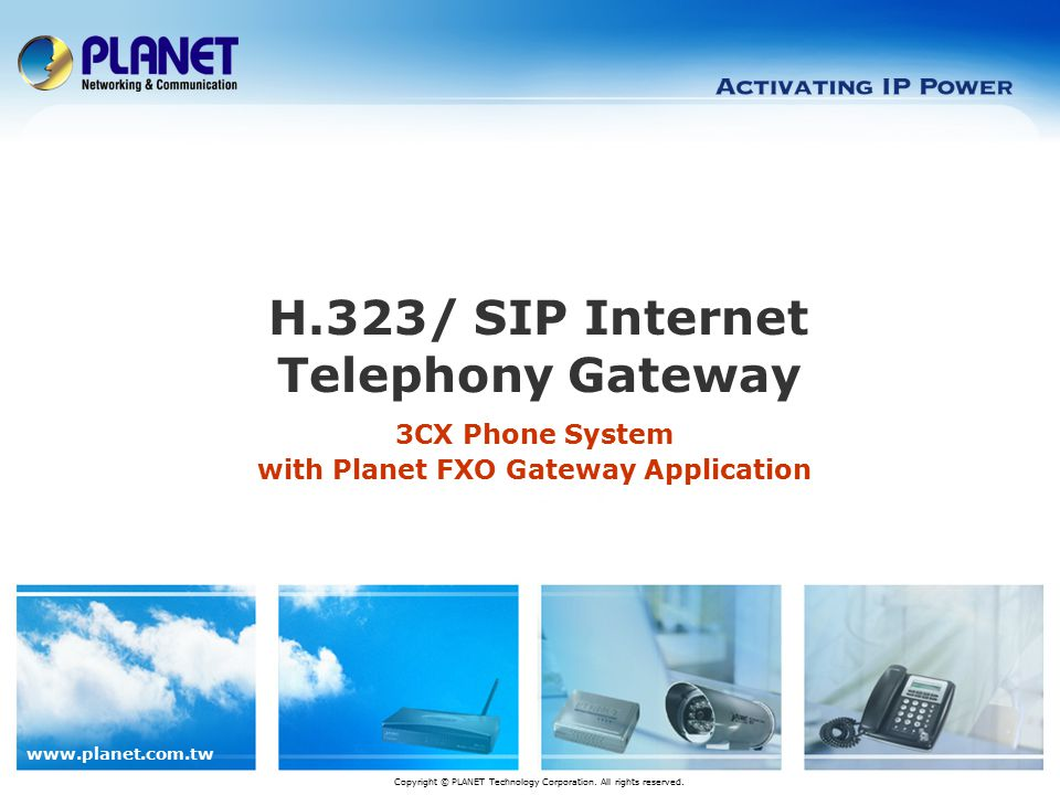 H.323/ SIP Internet Telephony Gateway
