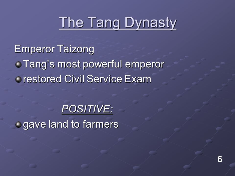 The Tang Dynasty Emperor Taizong Tang's most powerful emperor