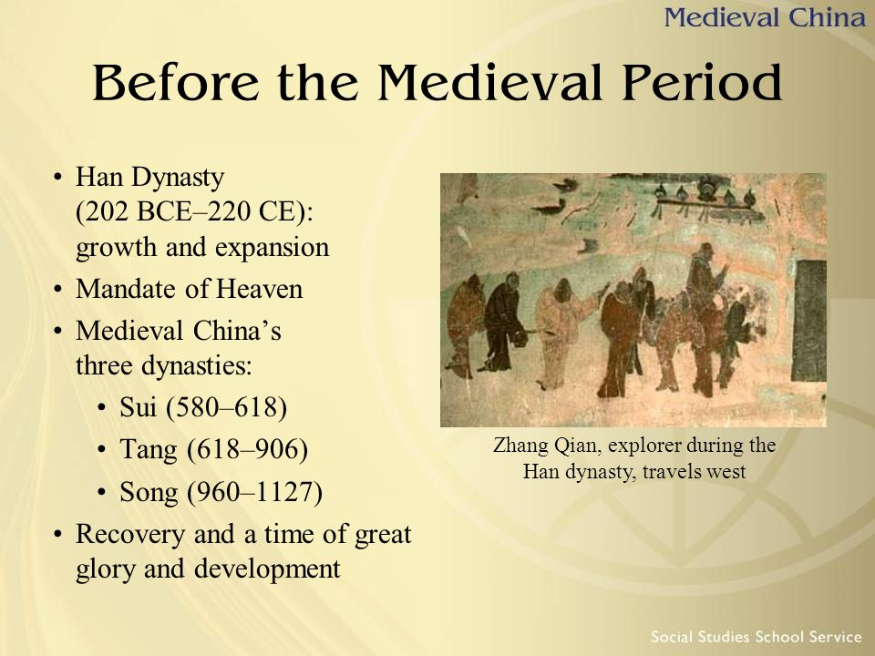 Before the Medieval Period