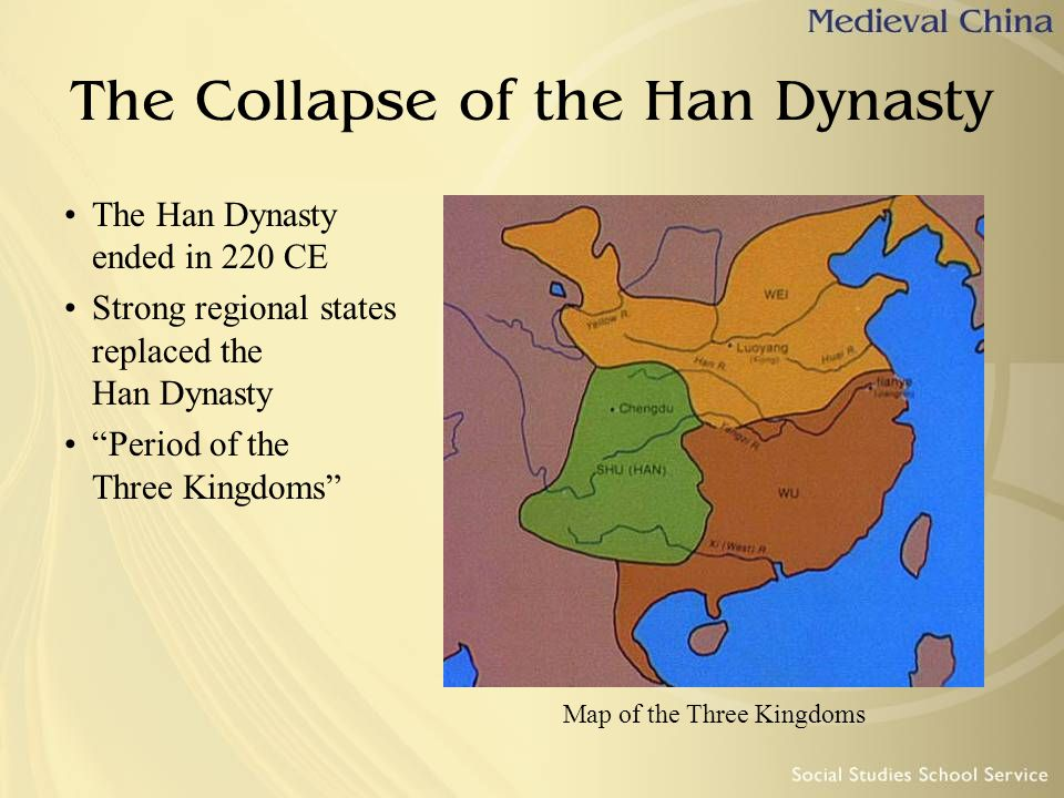 The Collapse of the Han Dynasty