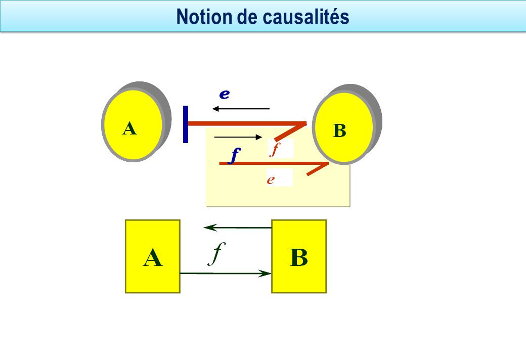 Notion de causalités