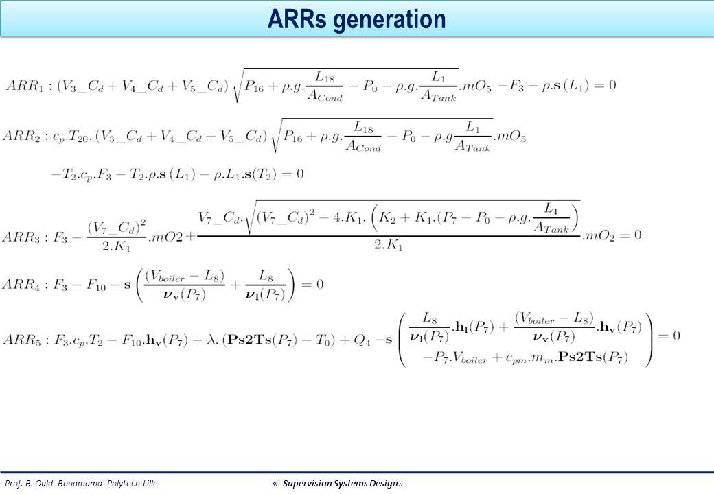 ARRs generation