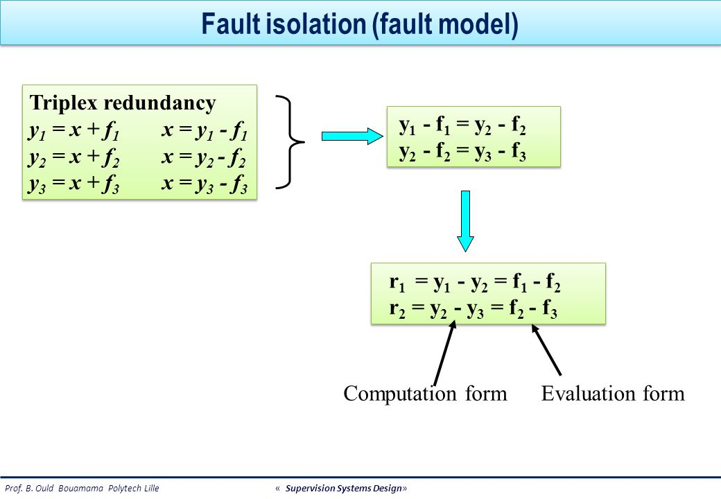 Fault isolation (fault model)