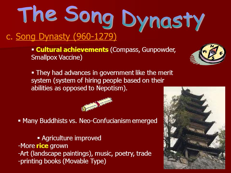 The Song Dynasty c. Song Dynasty (960-1279)