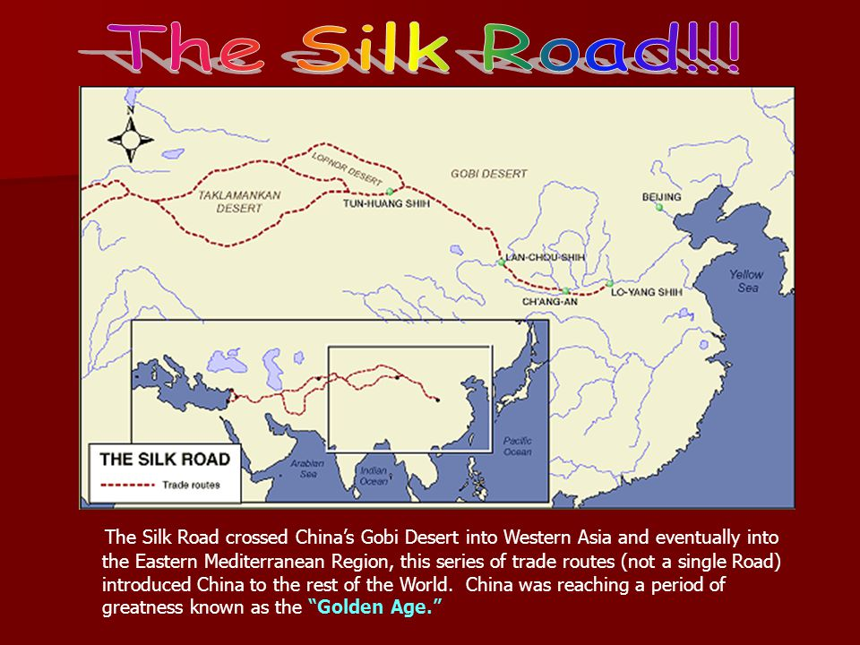 The Silk Road!!!