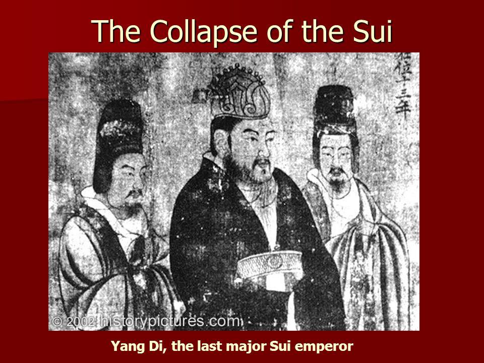 Yang Di, the last major Sui emperor
