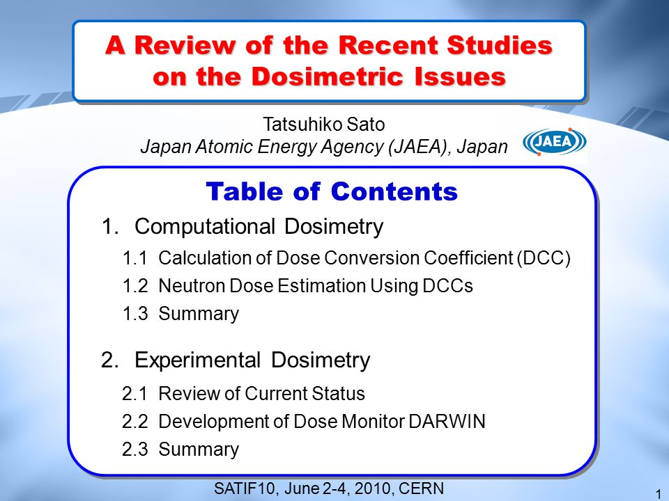 A Review of the Recent Studies on the Dosimetric Issues