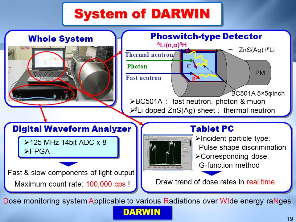 System of DARWIN Phoswitch-type Detector Whole System