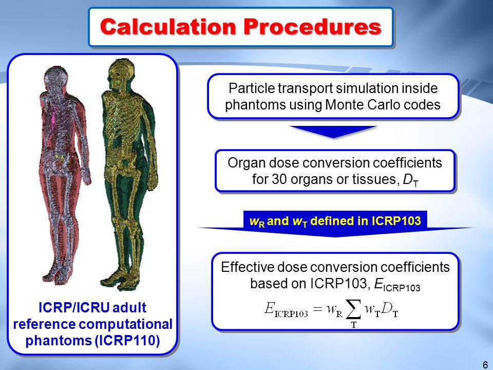 Calculation Procedures