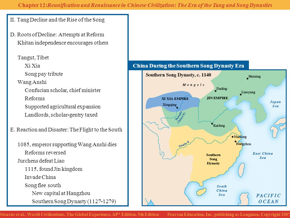 China During the Southern Song Dynasty Era