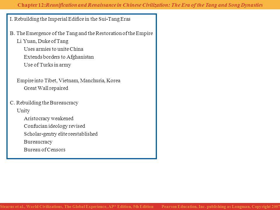 I. Rebuilding the Imperial Edifice in the Sui-Tang Eras