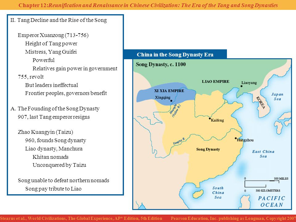 China in the Song Dynasty Era