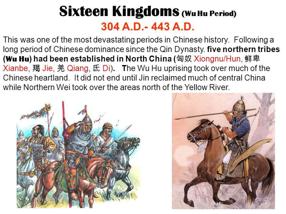 Sixteen Kingdoms (Wu Hu Period)