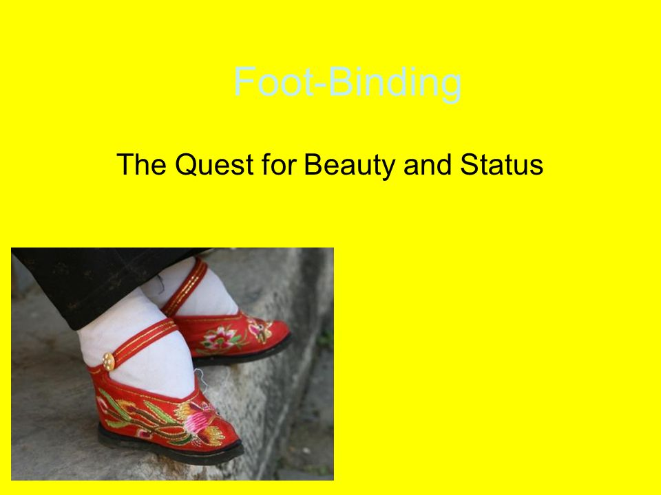 The Quest for Beauty and Status