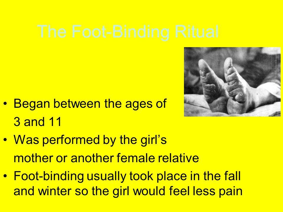 The Foot-Binding Ritual