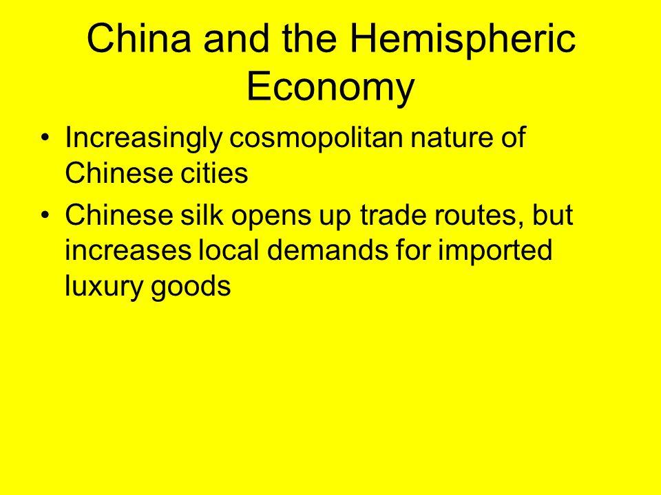 China and the Hemispheric Economy