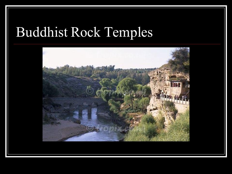 Buddhist Rock Temples