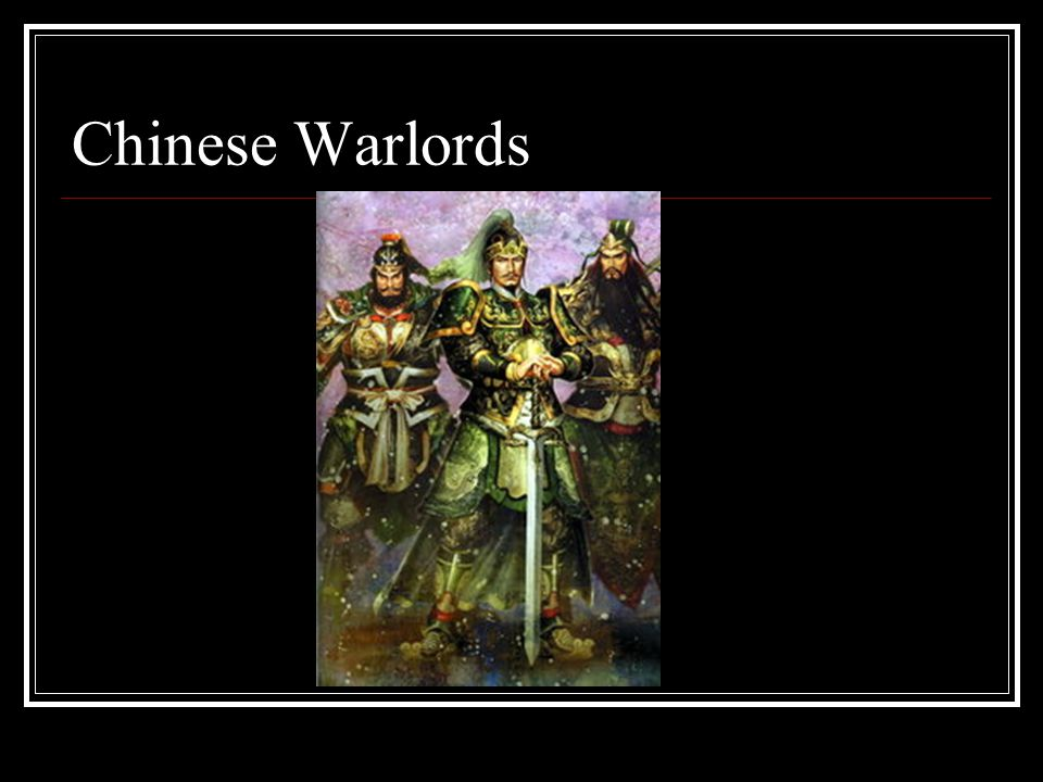 Chinese Warlords
