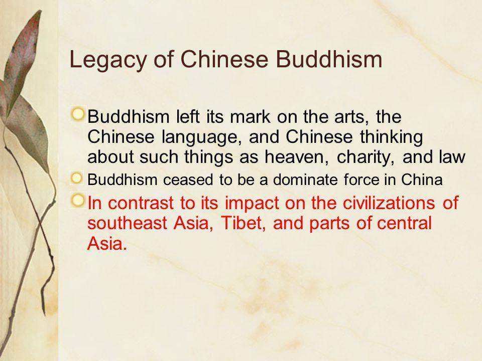 Legacy of Chinese Buddhism