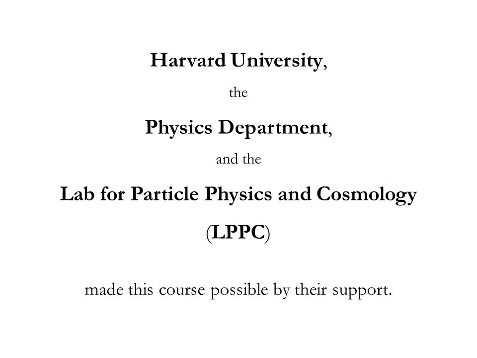 Lab for Particle Physics and Cosmology