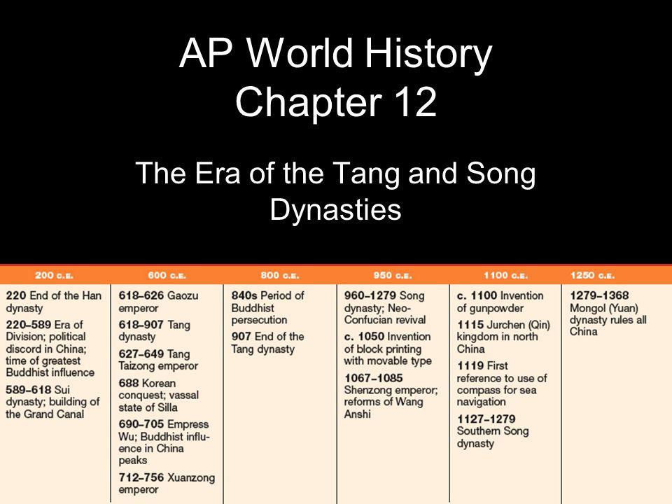 AP World History Chapter 12