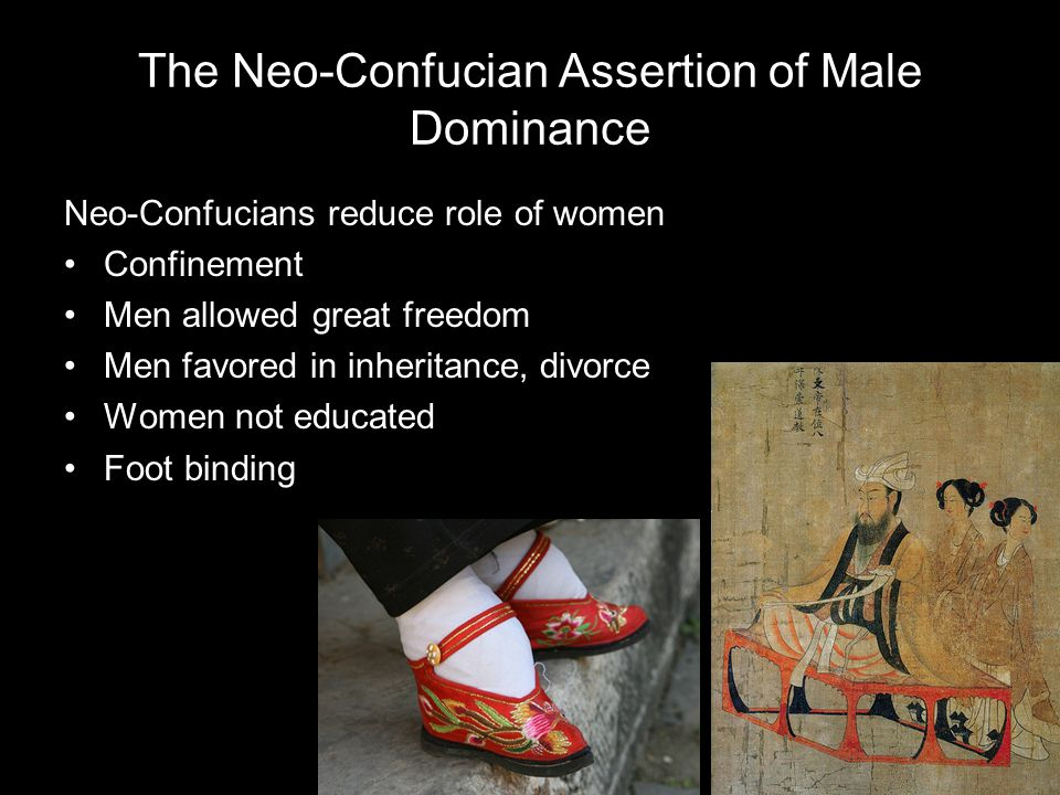The Neo-Confucian Assertion of Male Dominance
