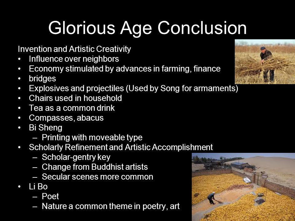 Glorious Age Conclusion