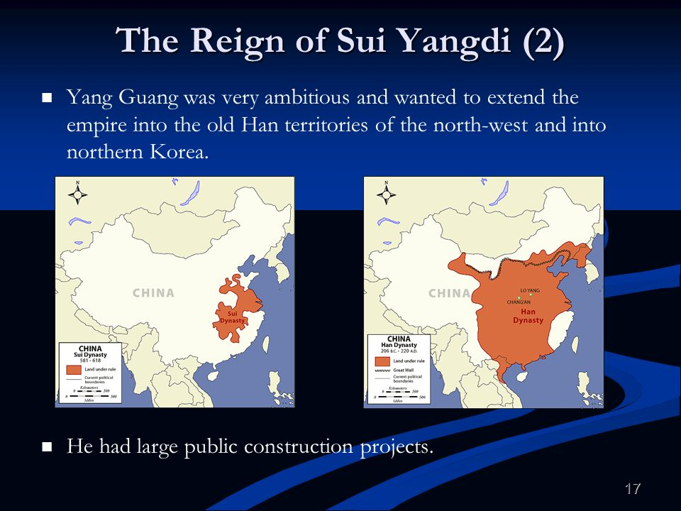 The Reign of Sui Yangdi (2)