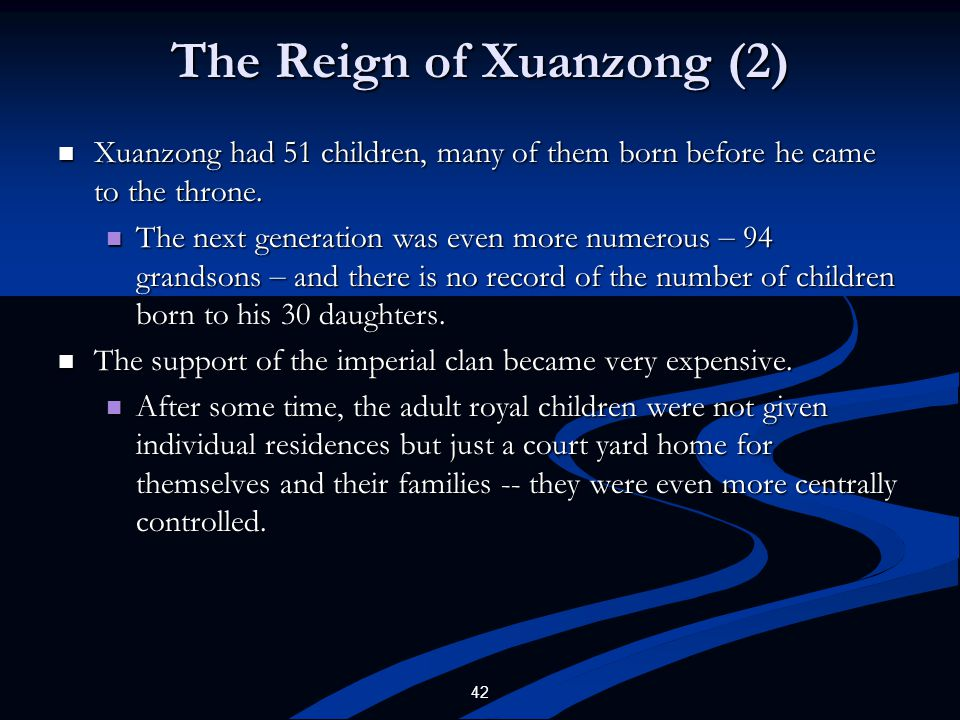 The Reign of Xuanzong (2)