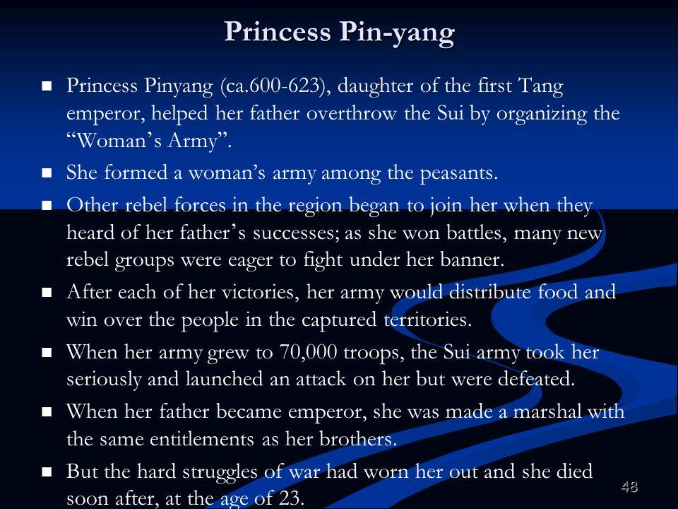 Princess Pin-yang