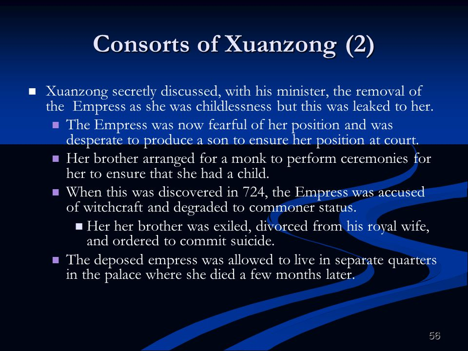 Consorts of Xuanzong (2)