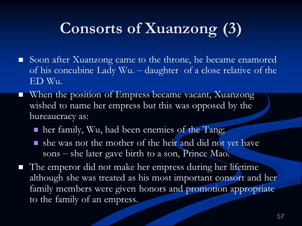 Consorts of Xuanzong (3)