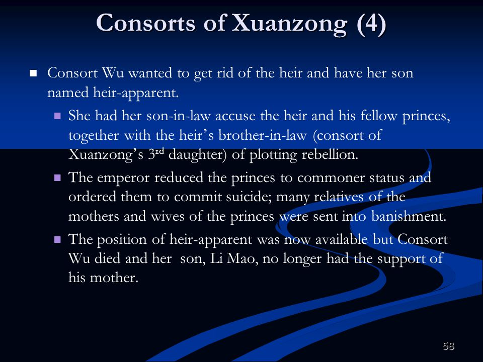 Consorts of Xuanzong (4)