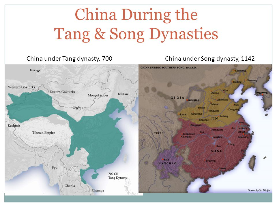 Under The Tang Dynasty China