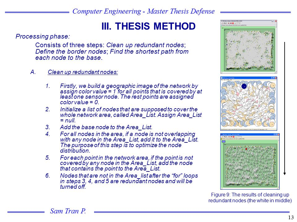 III. THESIS METHOD Processing phase: