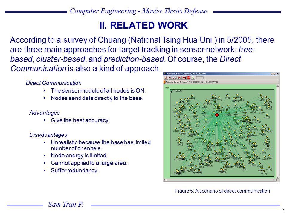 Figure 5: A scenario of direct communication