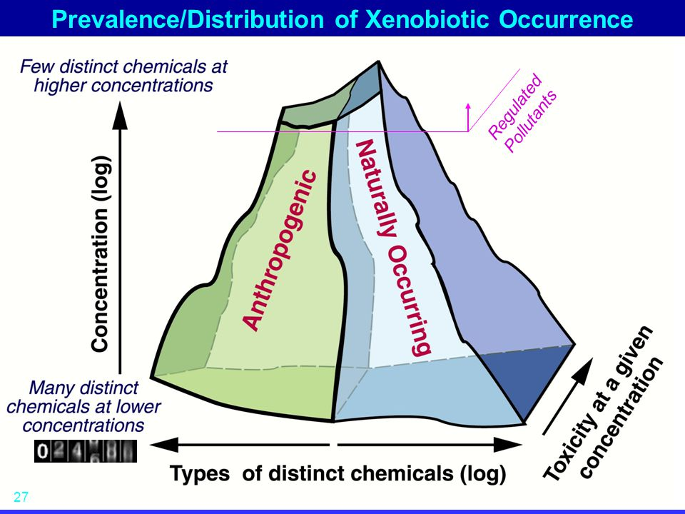 Prevalence/Distribution of Xenobiotic Occurrence