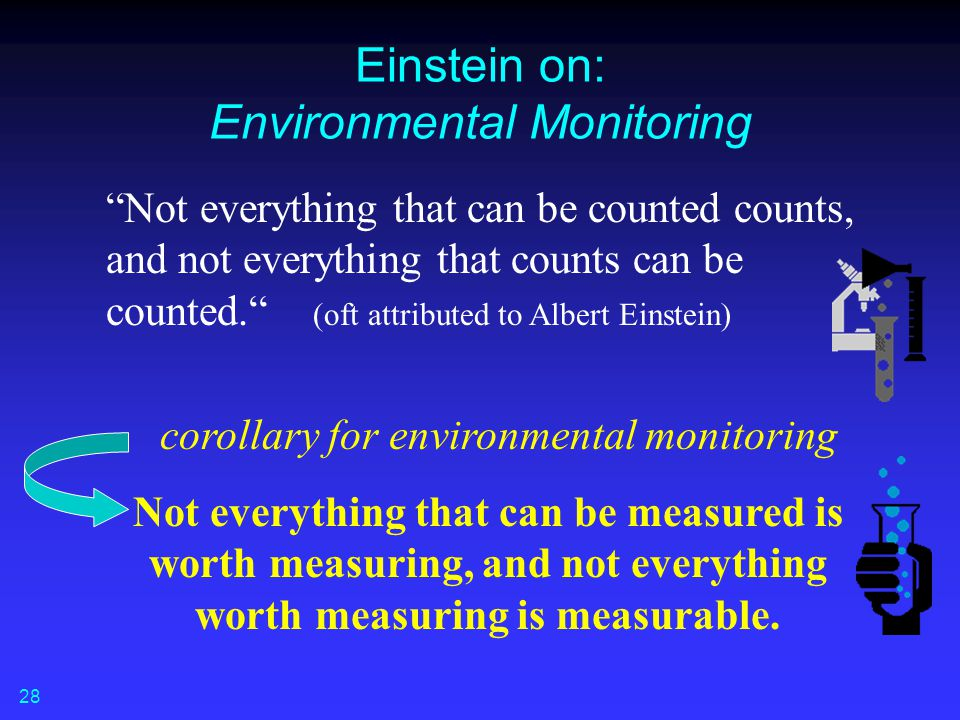 Einstein on: Environmental Monitoring