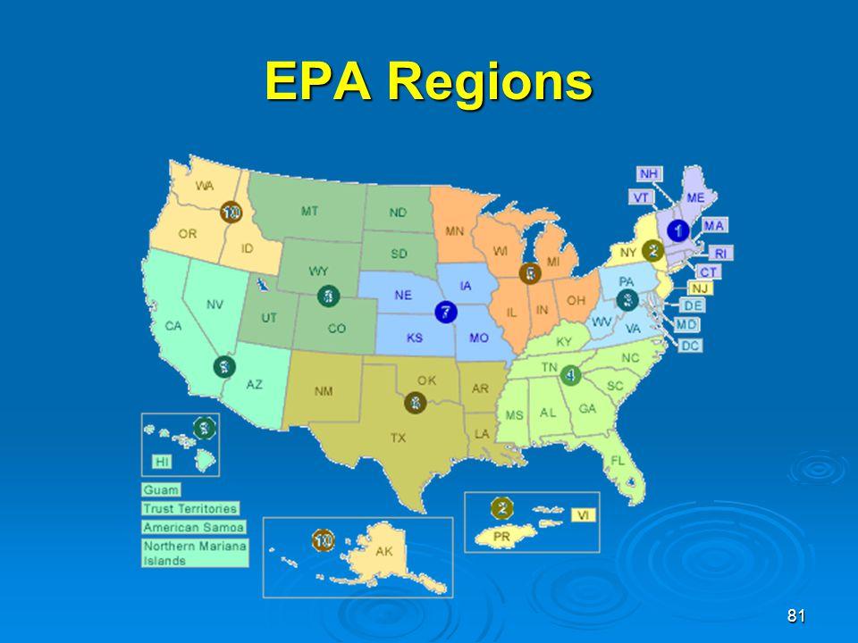 EPA Regions
