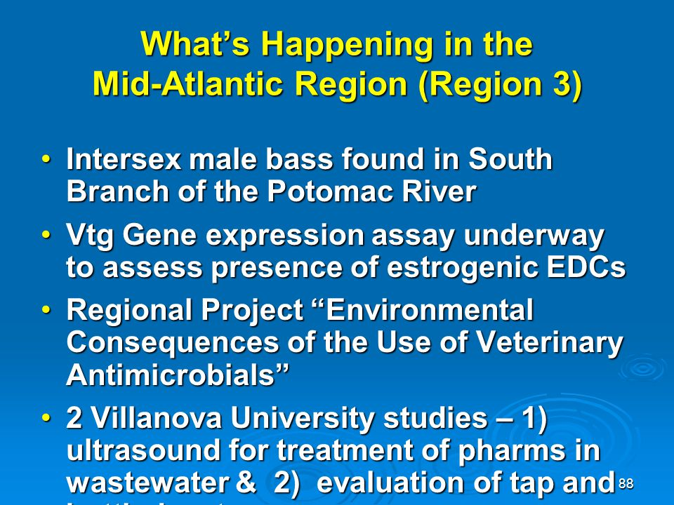 What's Happening in the Mid-Atlantic Region (Region 3)