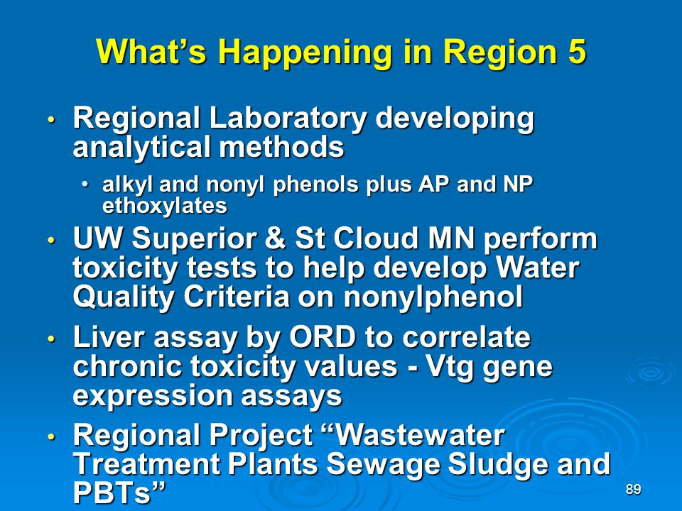 What's Happening in Region 5