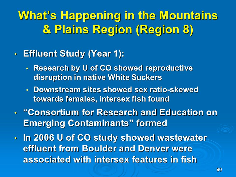 What's Happening in the Mountains & Plains Region (Region 8)