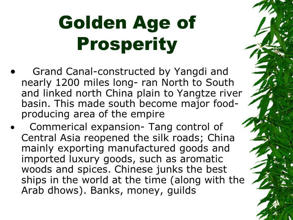 Golden Age of Prosperity