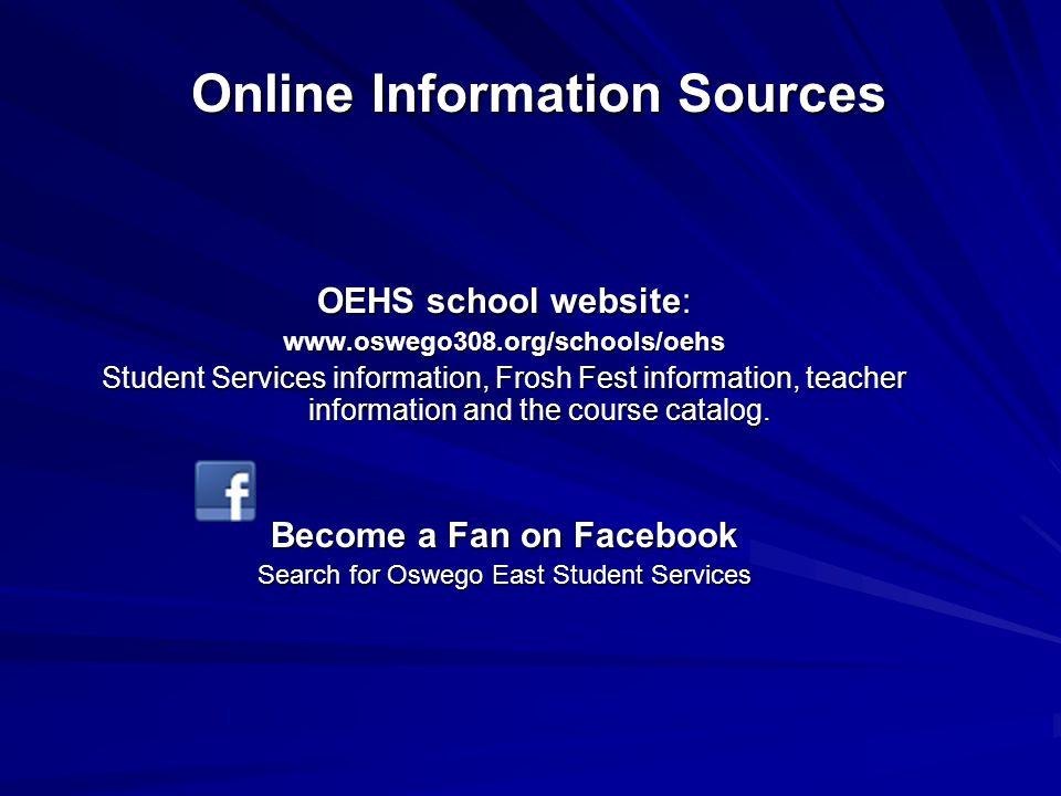 Online Information Sources